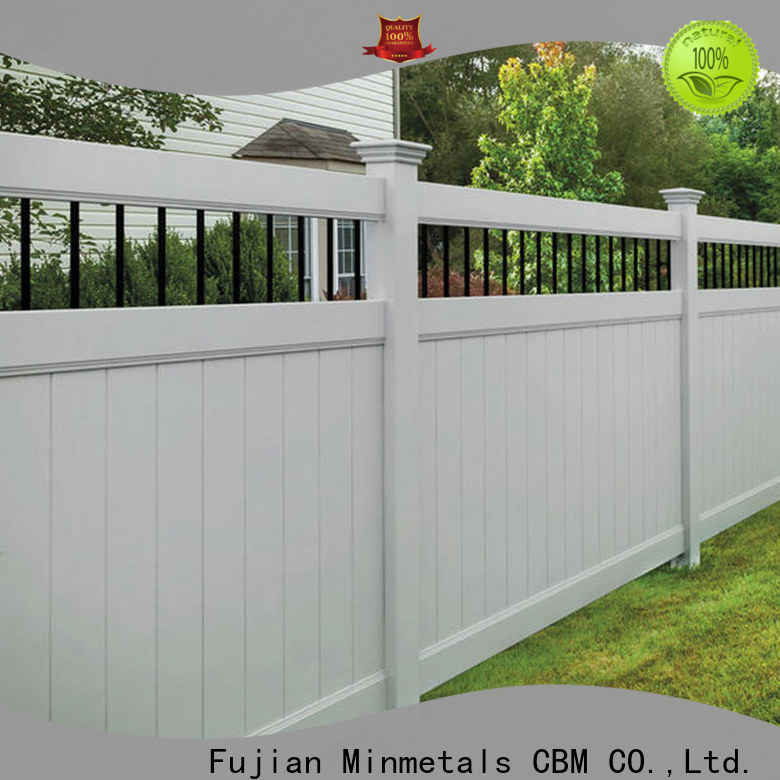 CBM vinyl fencing wholesale for apartment