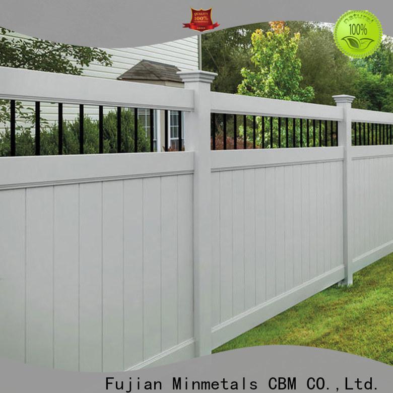 CBM vinyl fencing wholesale for apartment
