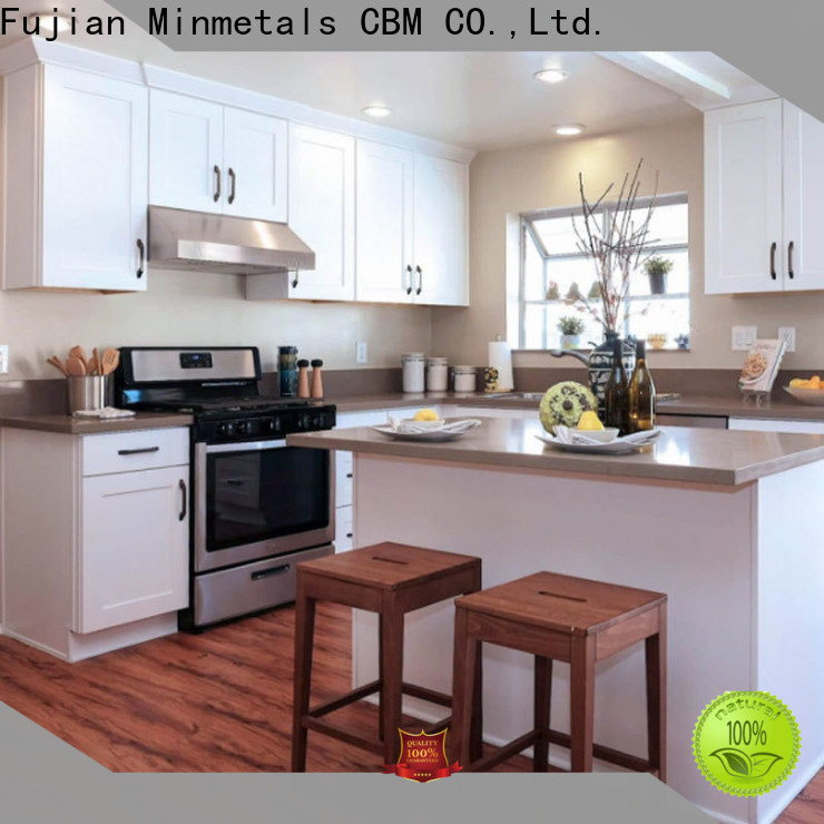 CBM solid wood kitchen cabinets owner for construstion