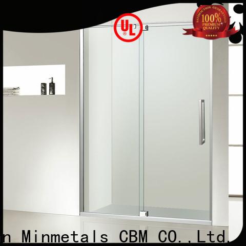 CBM bathroom glass door supplier for decorating