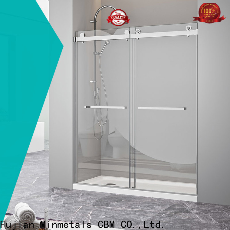 CBM bathtub glass door manufacturer for villa