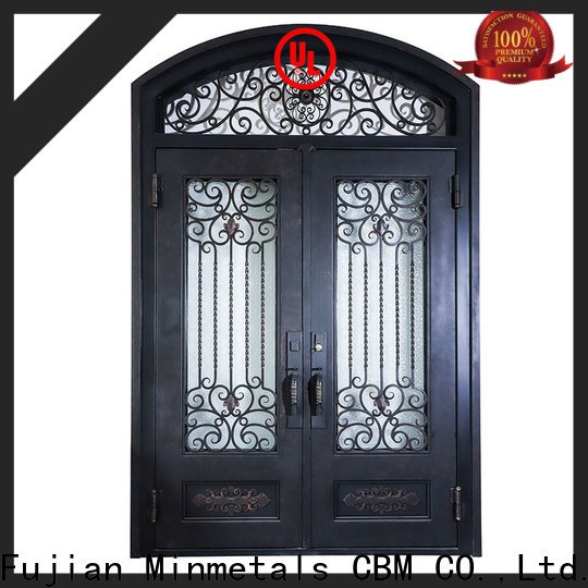 CBM iron door design for house at discount for mansion