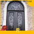 new-arrival wrought iron doors bulk production for housing