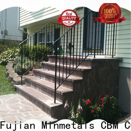 CBM wrought iron railings China supplier for flats