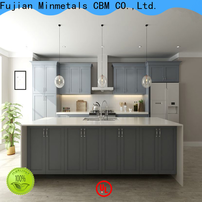 CBM inexpensive cherry wood kitchen cabinets owner for building
