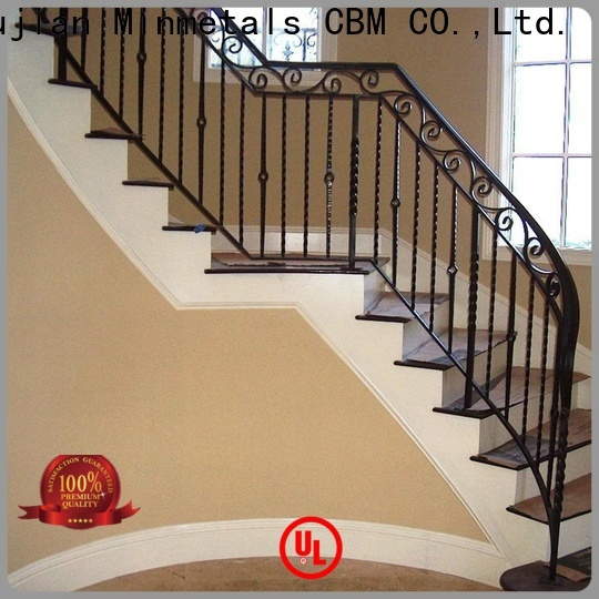 bulk wrought iron handrail China supplier for building