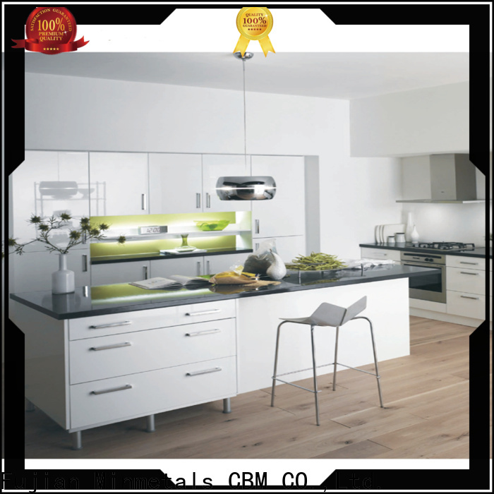 CBM antique kitchen cabinets factory price for housing