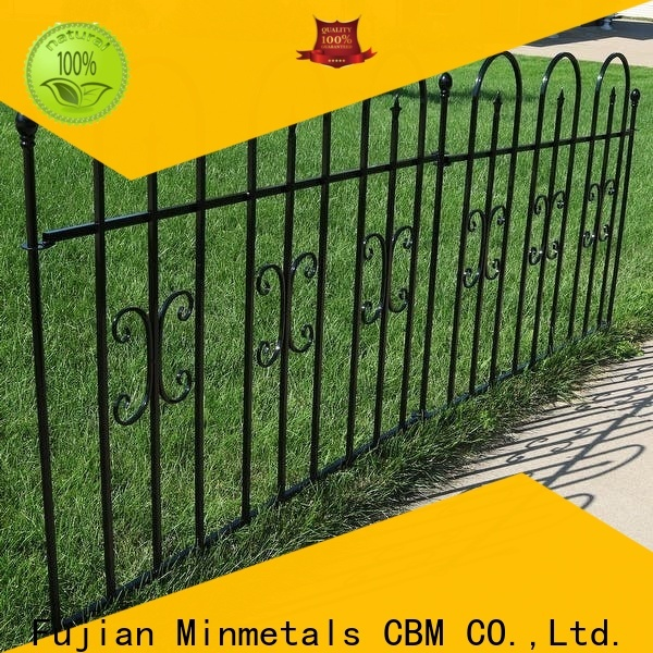 first-rate wrought iron fence at discount for mansion