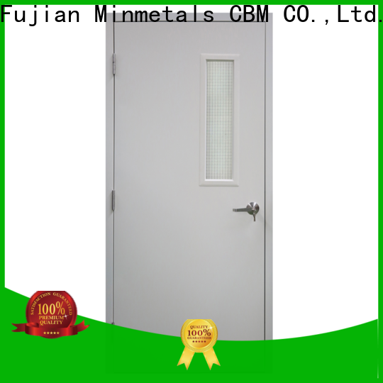 popular fire doors with glass supply for new house