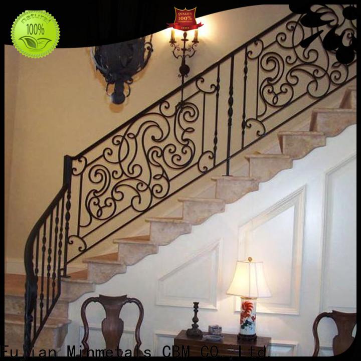 CBM rod iron railing at discount for flats