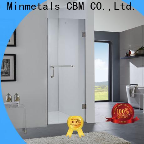 CBM hot-sale frameless glass doors manufacturers for villa
