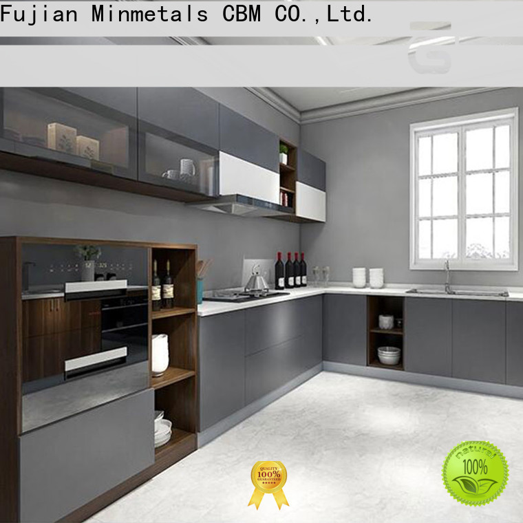 CBM durable contemporary kitchen cabinets free design for housing