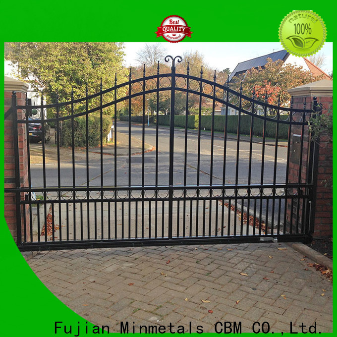 high-quality iron door design for house factory price for new house