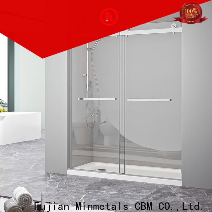 fine-quality bathroom sliding glass door wholesale for villa