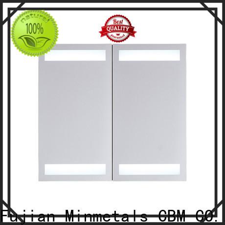 CBM newly corner mirror cabinet producer for housing