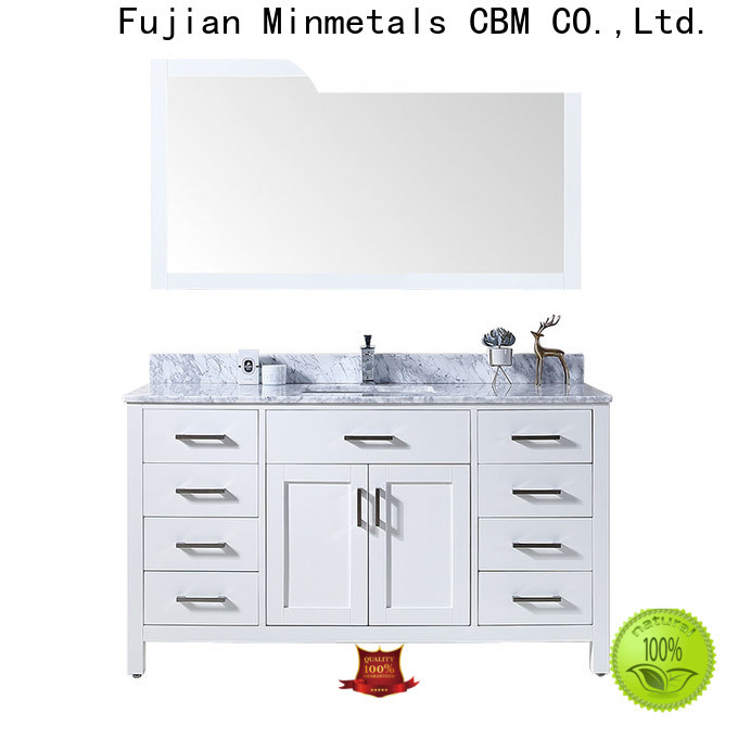 CBM bathroom vanity cabinets factory for flats