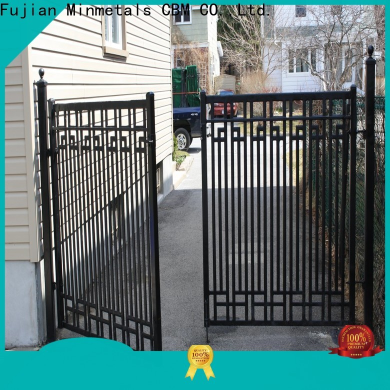 CBM fine-quality wrought iron doors at discount for flats