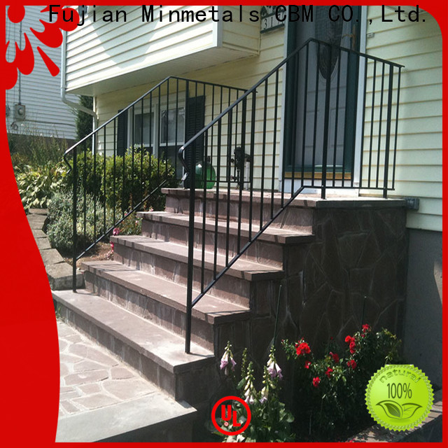 durable interior wrought iron railings at discount for new house