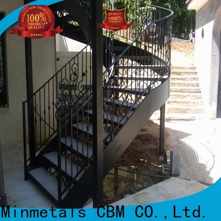 popular exterior wrought iron railing certifications for apartment