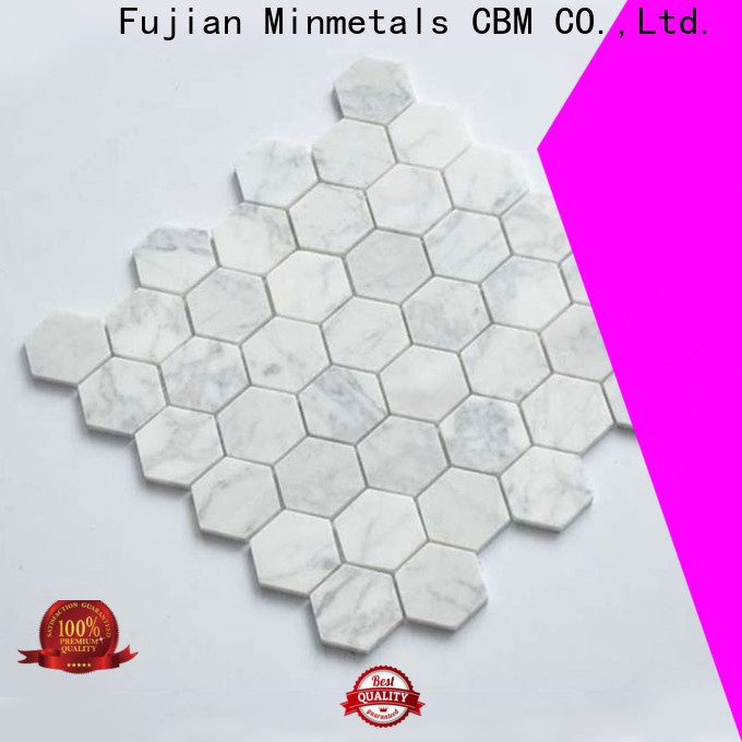 CBM sepcial marble mosaic tile at discount for housing