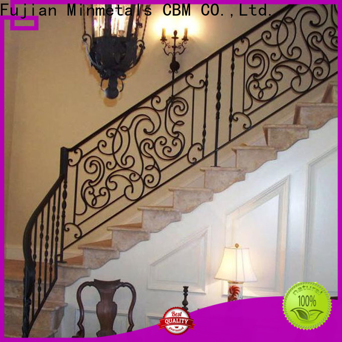 popular wrought iron handrails for outdoor steps at discount for apartment