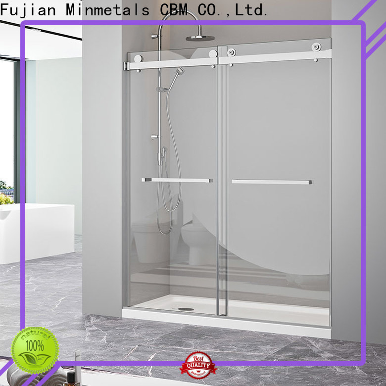 CBM new-arrival bathtub glass door manufacturers for villa
