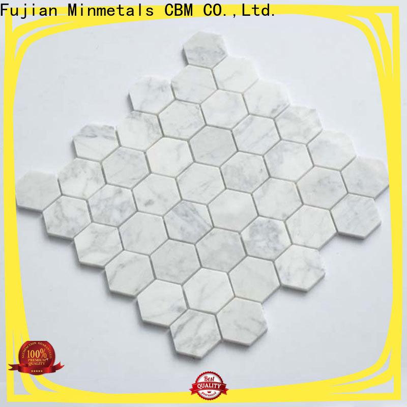 CBM multi-use hexagon mosaic tile factory for decorating