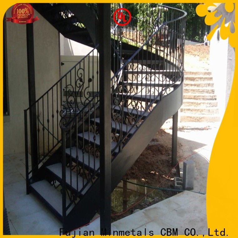 CBM interior wrought iron railings China supplier for mansion
