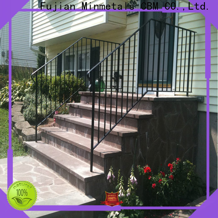 CBM interior wrought iron railings China supplier for holtel