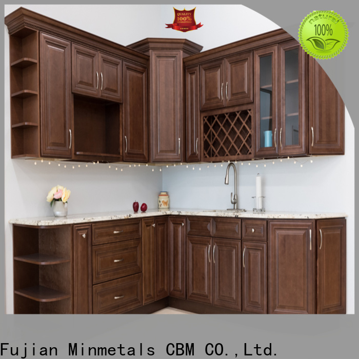 durable light wood kitchen cabinets wholesale for villa