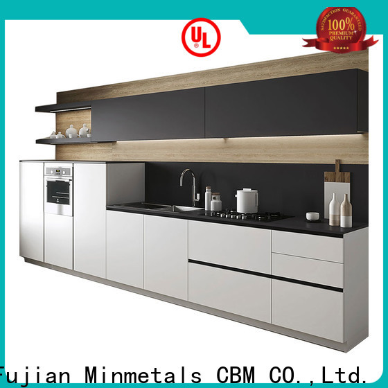 CBM popular white acrylic cabinets free design for flats