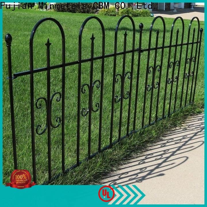 best decorative wrought iron fence bulk production for housing