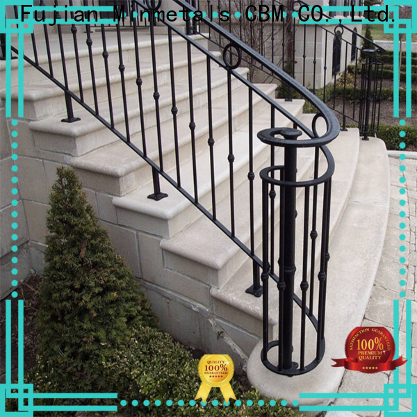 CBM stable rod iron railing China supplier for mansion