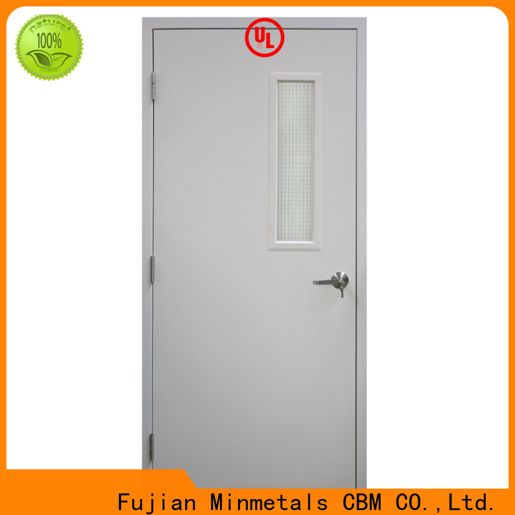 CBM durable fire rated wood doors certifications for decorating