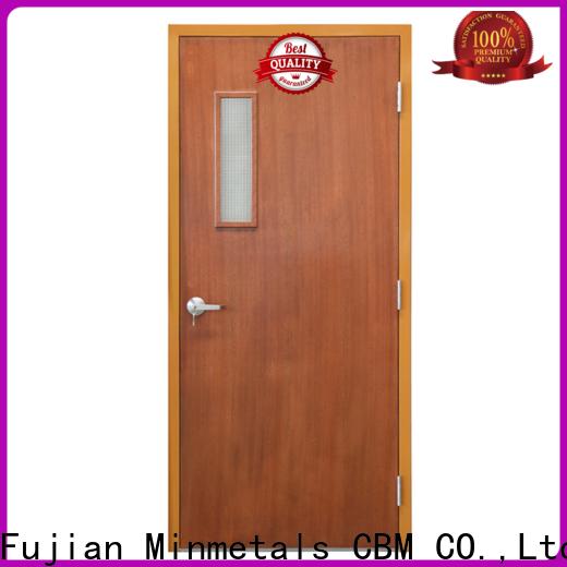 CBM bulk fire proof doors certifications for home