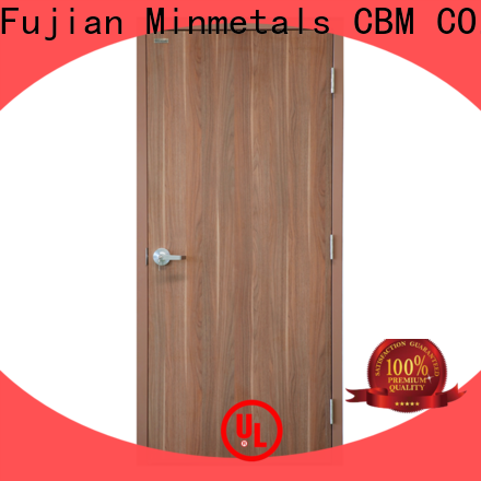 CBM multi-use steel fire door bulk production for flats