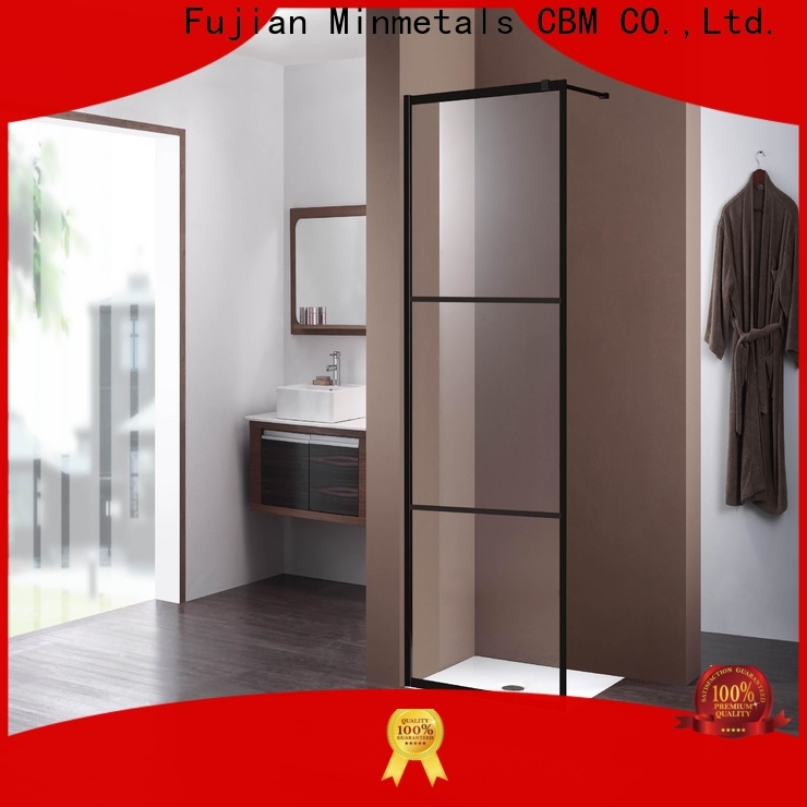 CBM first-rate bathroom sliding glass door wholesale for construstion