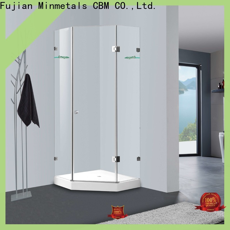 CBM first-rate bathtub glass door owner for mansion