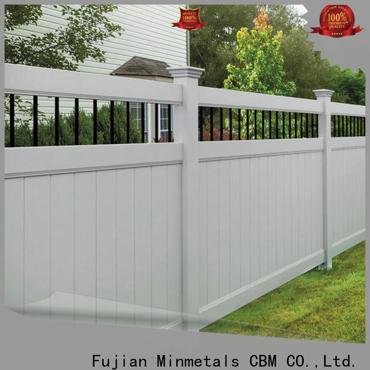 CBM pvc fence for wholesale for new house
