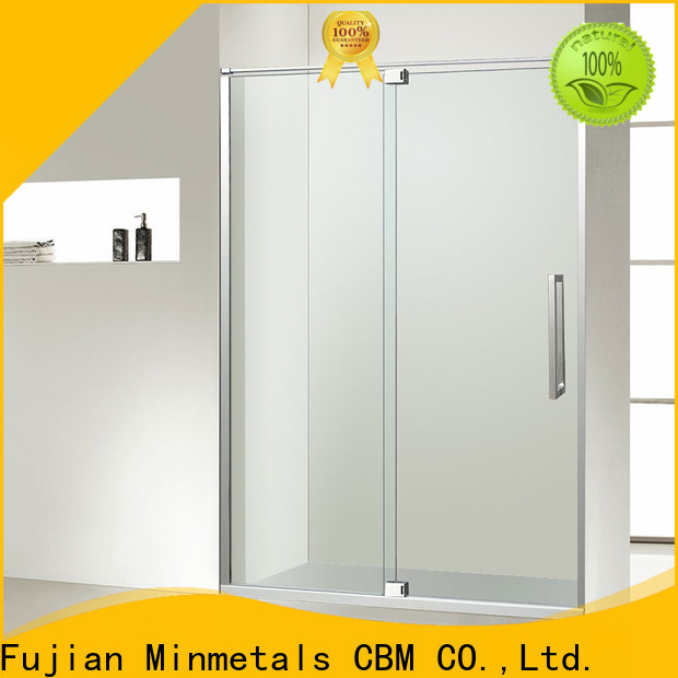 high-quality frameless shower door owner for decorating
