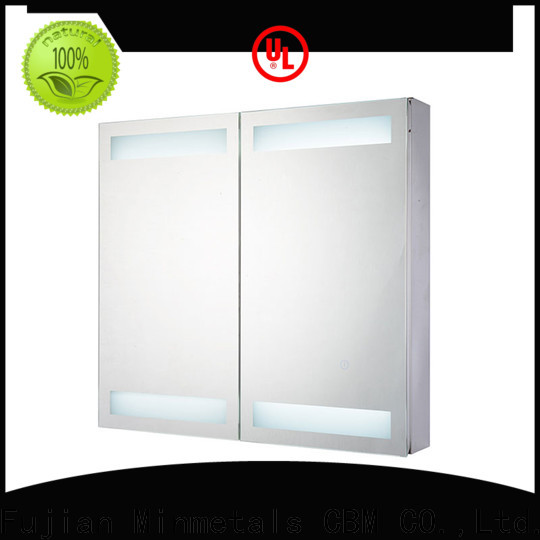 CBM high-quality bathroom cabinets with lights supply for decorating