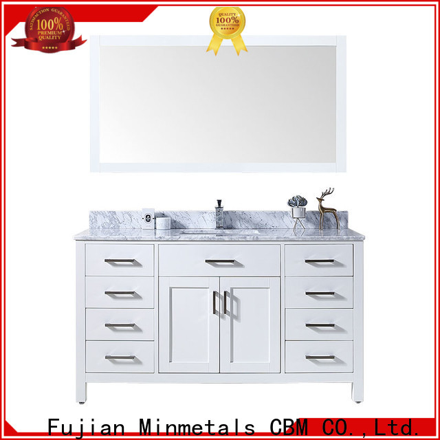 CBM fine-quality bathroom vanity cabinets China supplier for apartment