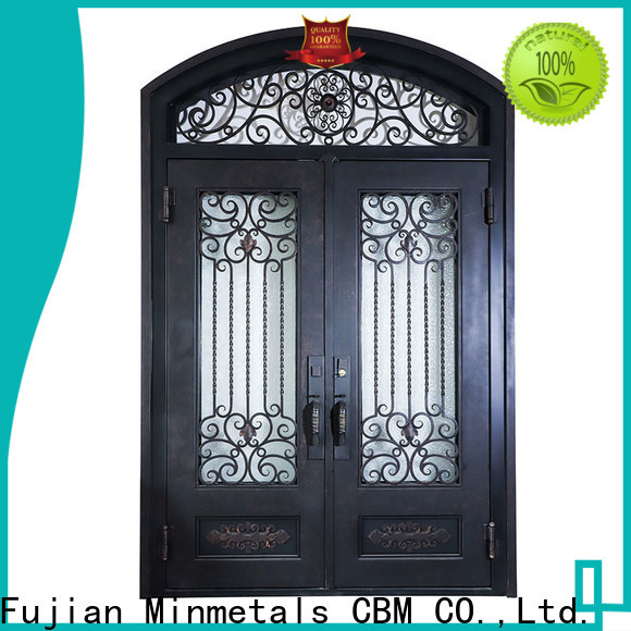 quality iron front doors from manufacturer for building