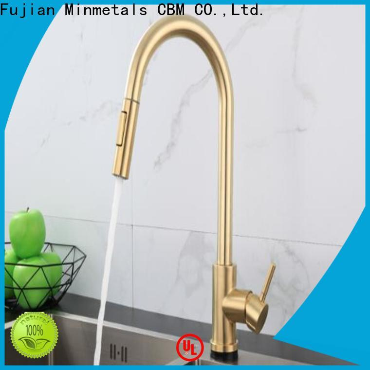 CBM quality pull out kitchen taps vendor for flats