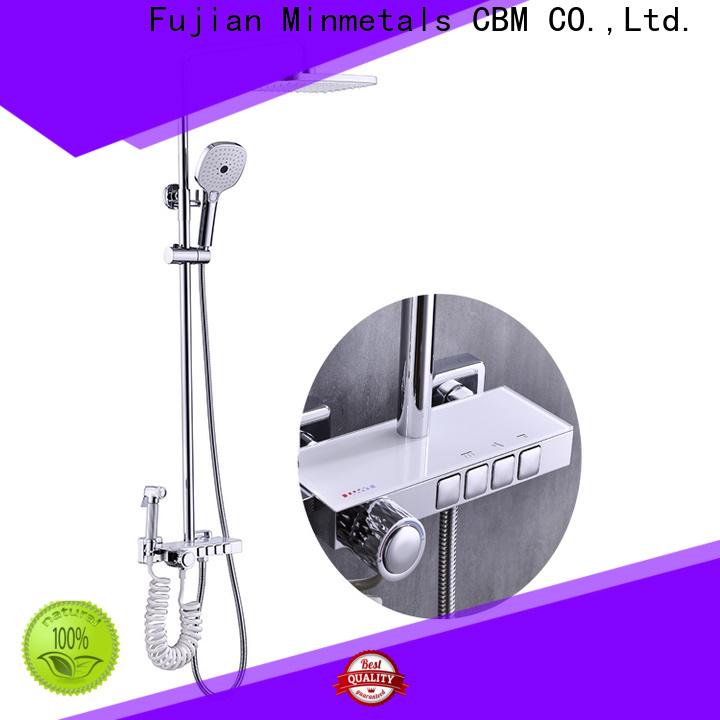 CBM exposed shower set producer for apartment