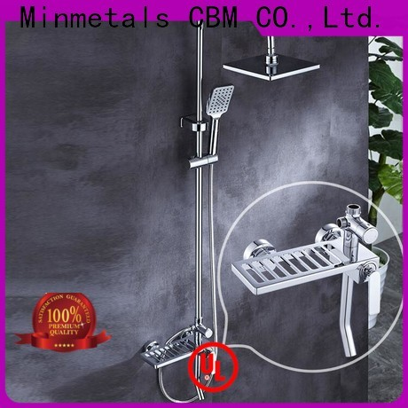 CBM newly black shower head set free design for decorating