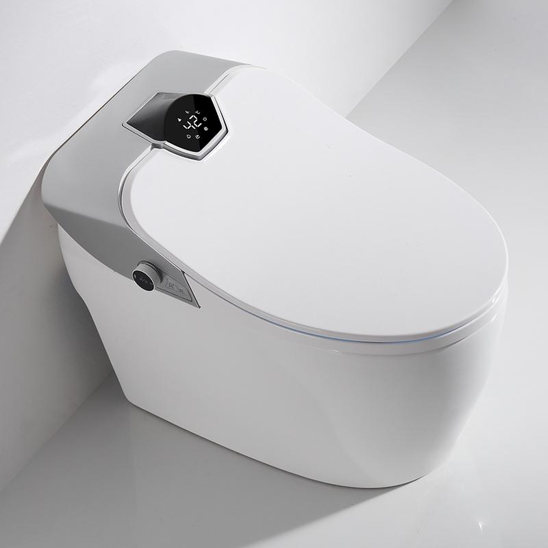 CBM-i110 Manufacturer No water pressure limit bidet function Intelligent Toilet Smart toilet with Sunken water tank LED screen