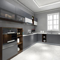 Panel kitchen cabinet