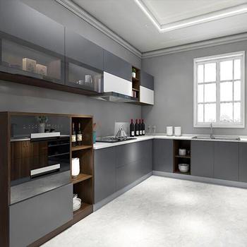 Panel kitchen cabinet