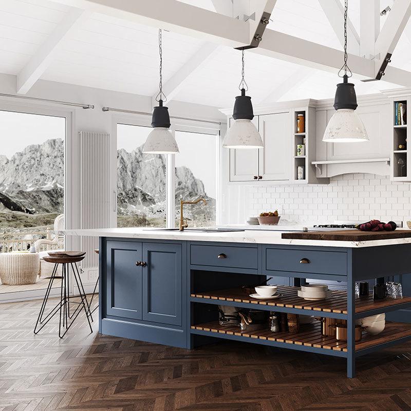Gabinete de cocina de PVC